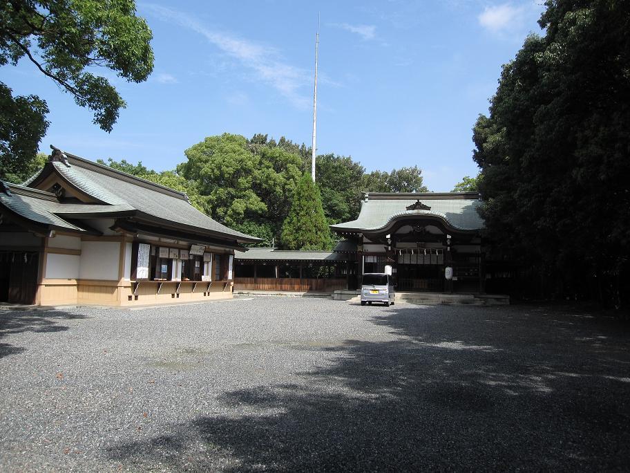 姉子神社全景