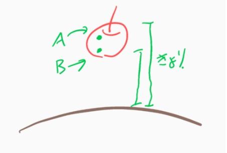 MechaAG氏のリンゴ